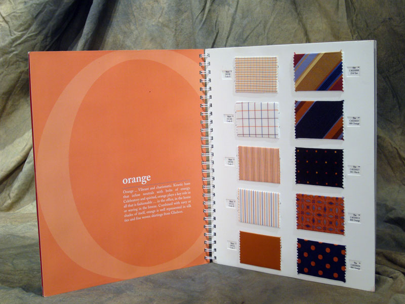 Fabric for fashion the swatch book spiral-bound 2